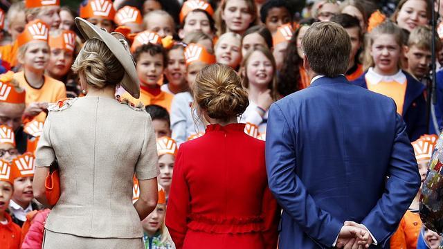 Bezoek koninklijke familie afgerond, Amersfoort feest door