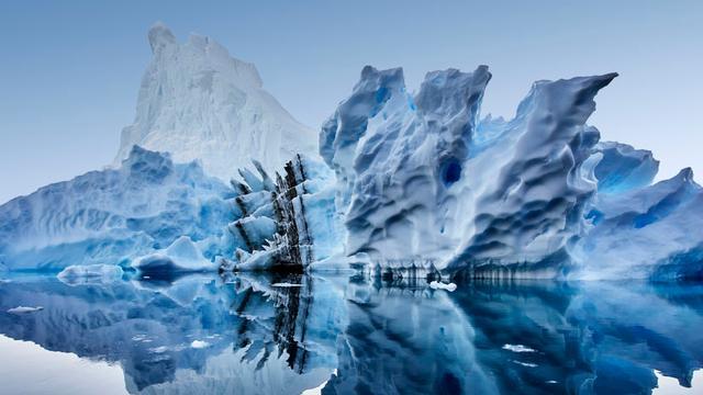 Achilleshiel van Antarctica: warm water onder ijs door nieuw ontdekte tunnels