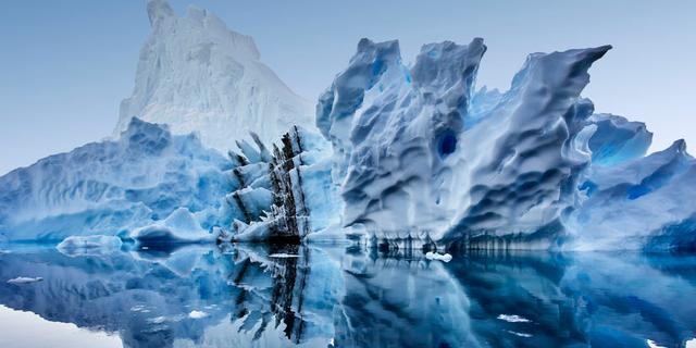 Groenlandse gletsjers stromen sneller, en hebben (voorlopig) geen noodrem