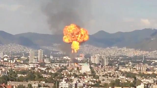 Duizenden Mexicanen geëvacueerd na explosie in alcoholfabriek