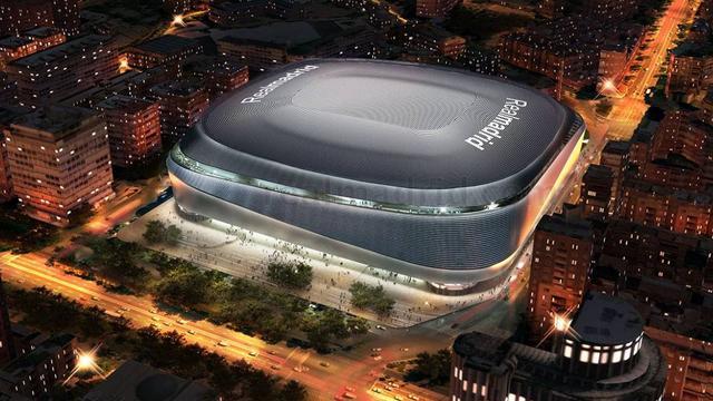 Real Madrid gaat dak bouwen op Bernabeu-stadion