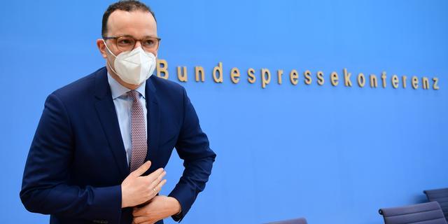Duitse minister wil dat deelstaten direct strengere coronamaatregelen treffen