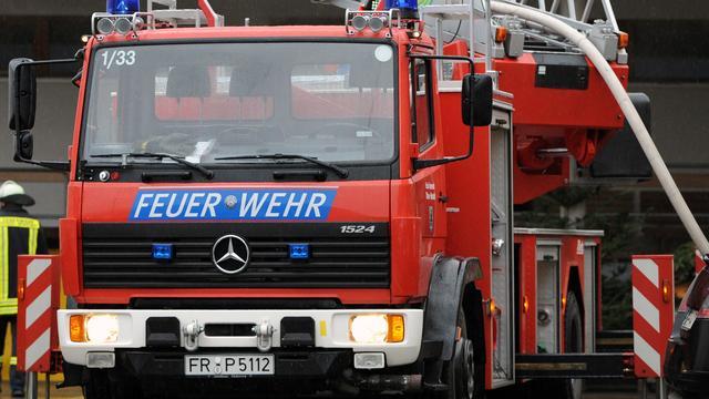 Vijf bewoners opgepakt na brand in Duits vluchtelingencentrum