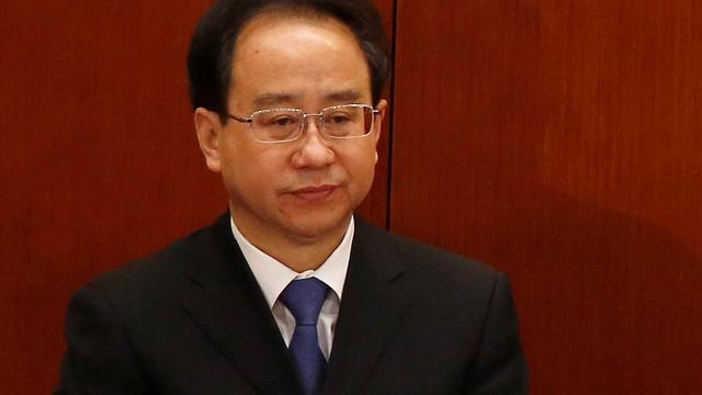 Chinese politicus opgepakt wegens corruptie