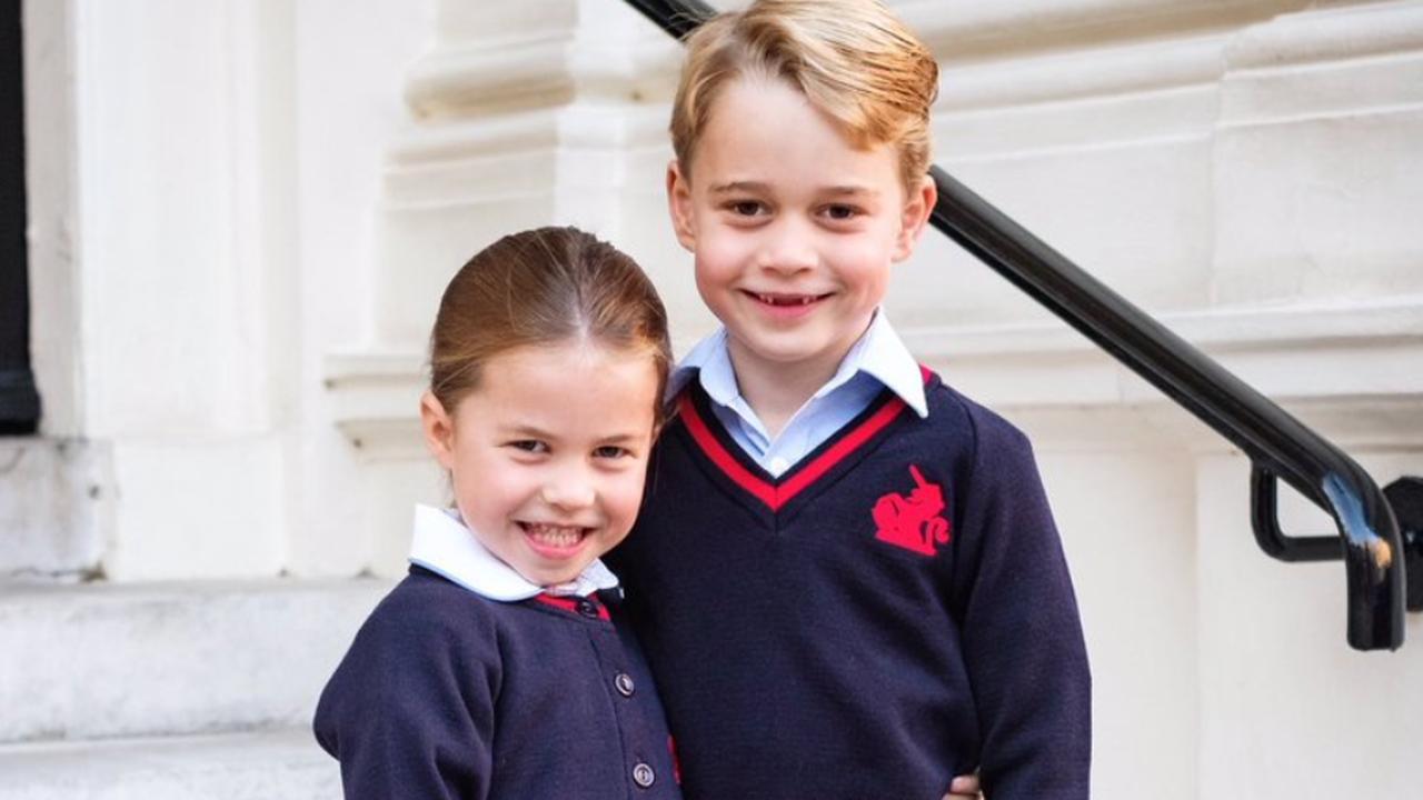 William en Kate brengen Charlotte weg voor eerste schooldag