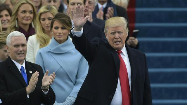 Ceremonie inauguratie Trump als president VS begonnen