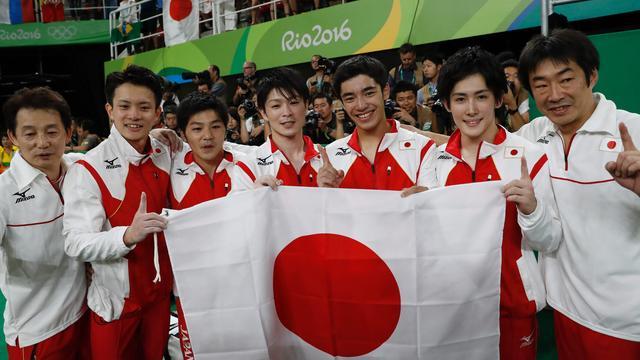 Japanse turners doorbreken Chinese hegemonie bij landenfinale