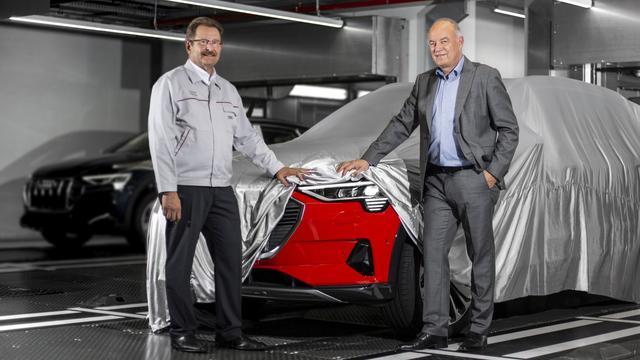 Productie volledig elektrische Audi e-tron van start gegaan