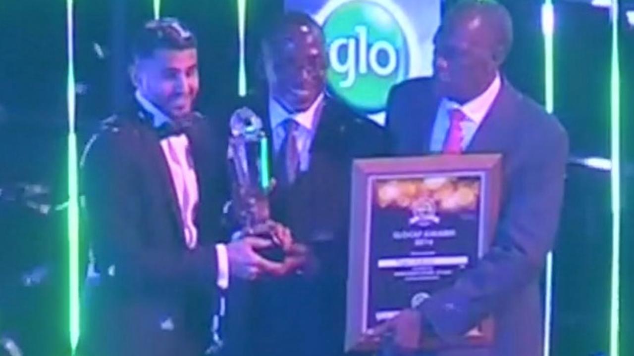 Mahrez neemt prijs Afrikaans voetballer van het jaar in ontvangst