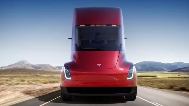 Prijs elektrische vrachtwagen Tesla lager dan verwacht