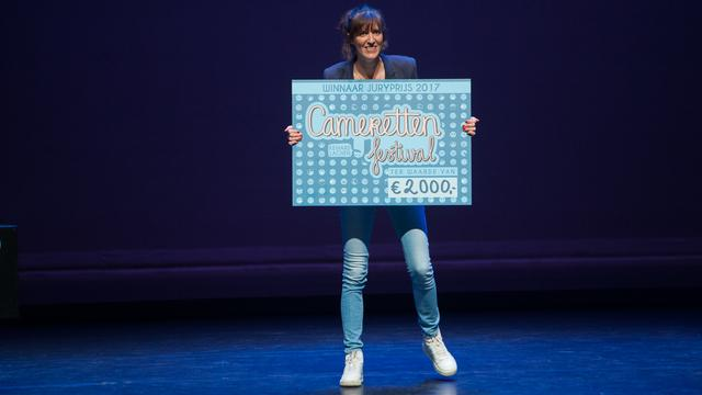 Cabaretier Janneke de Bijl wint Cameretten Festival