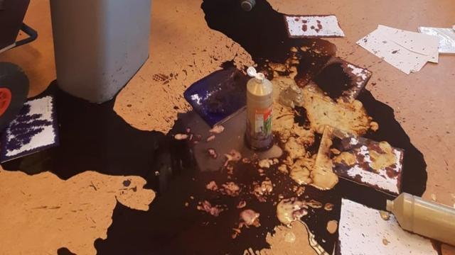 Vandalen laten bende achter in basisschool OBS Vleuterweide