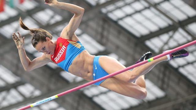Isinbajeva vraagt IAAF om niet alle Russische atleten te schorsen