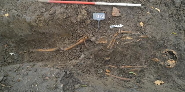 Mogelijk honderd skeletten in ontdekt middeleeuws massagraf Vianen