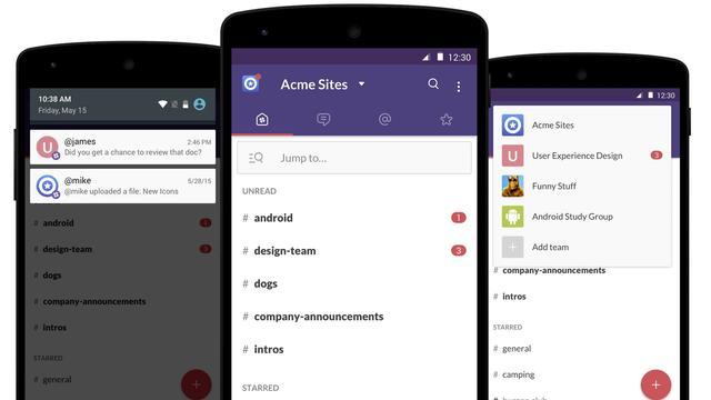 Android-app Slack krijgt nieuw ontwerp