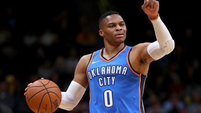 Westbrook eerste speler ooit met 'triple-double' tegen alle 29 NBA-ploegen