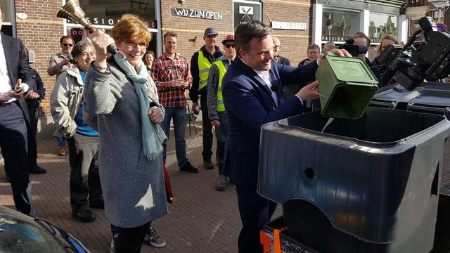De schillenboer rijdt weer rond in Leiden