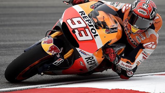 Marquez snelste in eerste vrije training MotoGP Valencia