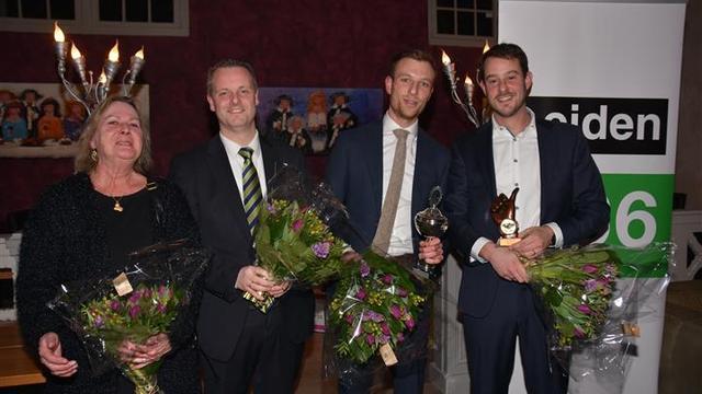 Mart Keuning gekozen tot Leids Raadslid van het Jaar 2016