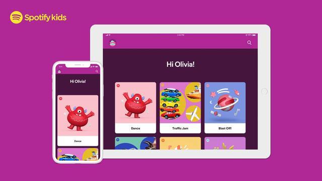 Spotify komt met nieuwe app voor kinderen