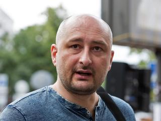 Babchenko zette eigen dood in scène om aan dood te ontsnappen
