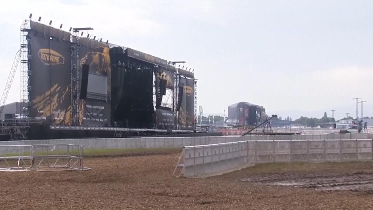 Slotdag Rock am Ring afgelast vanwege noodweer