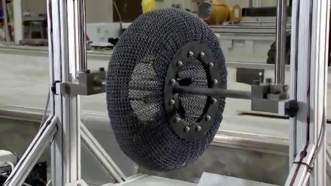 NASA ontwikkelt band die niet lek kan