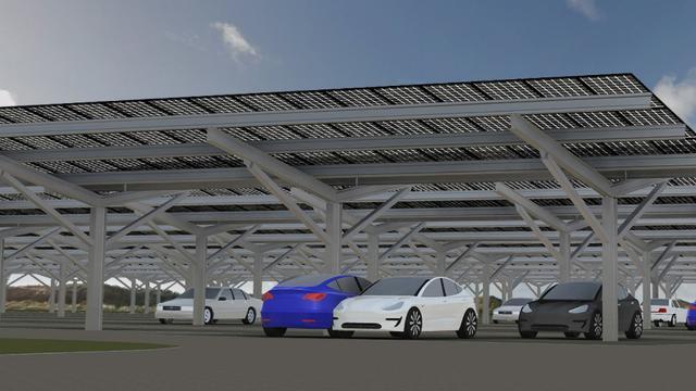 Bloemendaal aan Zee krijgt zonnepark met parkeergelegenheid