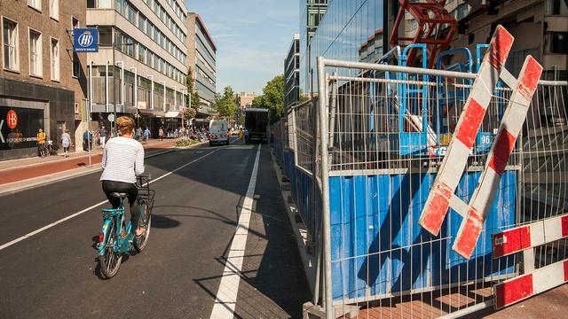 Werkzaamheden St. Jacobsstraat volgend jaar pas afgerond