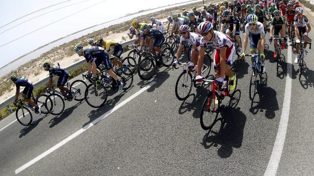 Liveticker Vuelta: Van Poppel wint sprint in overgangsetappe