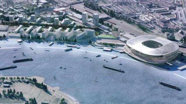 Businessplan: Feyenoord krijgt 25 miljoen euro per jaar bij nieuw stadion