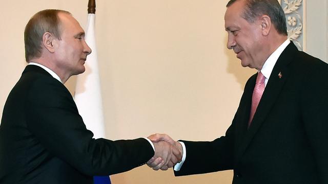 Herstellen relatie met Turkije prioriteit voor Poetin
