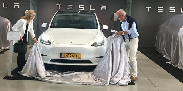 Direct toptiennotering Tesla Model Y in eerste Europese verkoopmaand