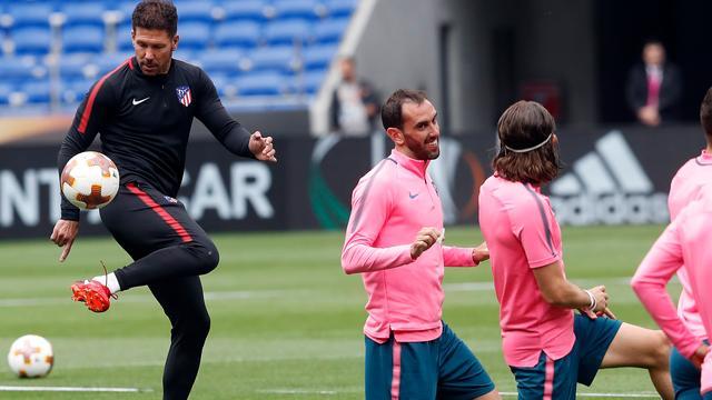 Simeone: 'Maakt helemaal niks uit dat ik geschorst ben voor EL-finale'