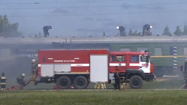 Rusland oefent reddingswerkzaamheden voor aardbeving