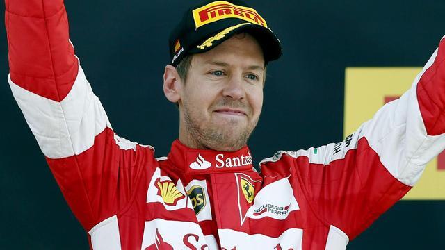 Vettel blijft ondanks grote achterstand optimistisch
