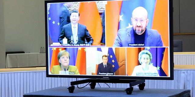 Relatie tussen EU en China 'te verzuurd' om investeringsdeal goed te keuren