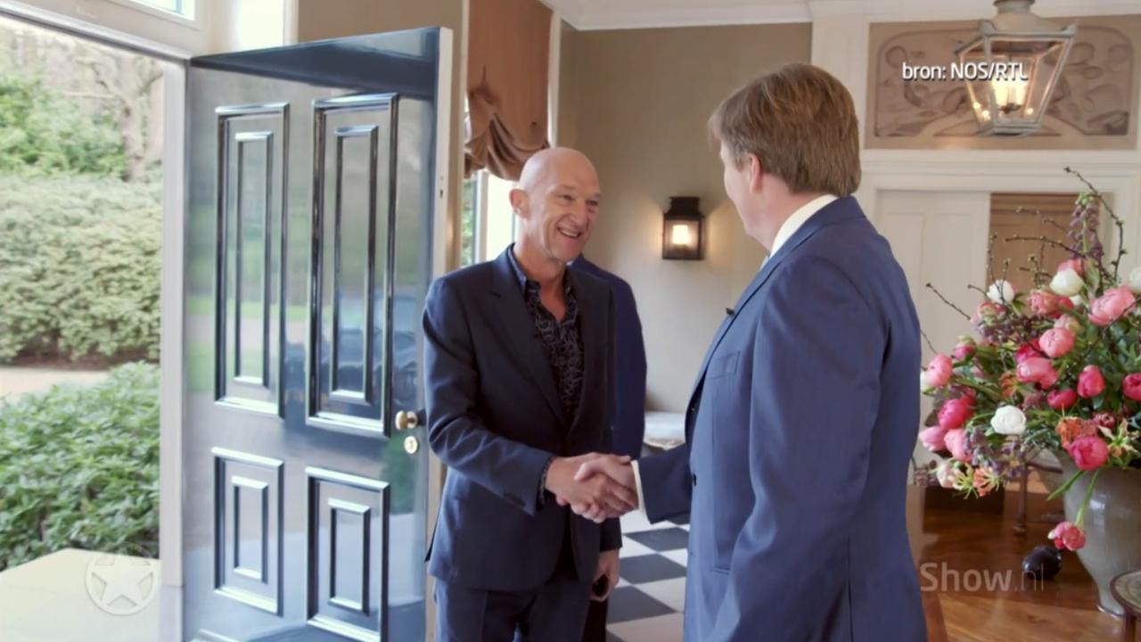 Eerste beelden van groot interview met koning Willem-Alexander