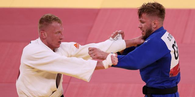 Judoka De Wit begrijpt dat videoscheidsrechter score aan tegenstander gaf