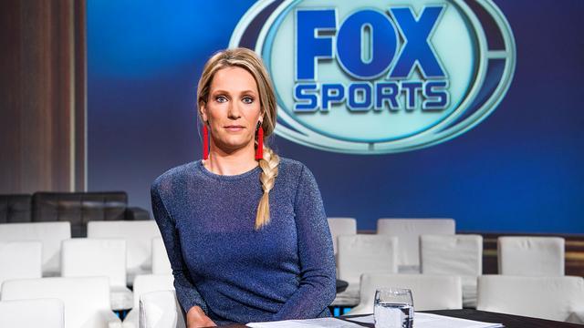 Presentatrice Hélène Hendriks niet gevoelig voor aandacht van voetballers
