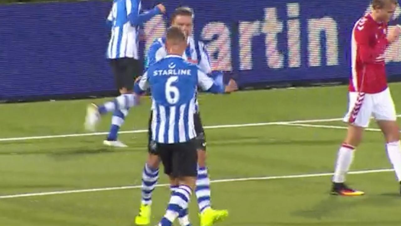 Samenvatting FC Eindhoven-Jong FC Utrecht (2-1)
