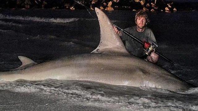 Australiër vangt bij Perth mogelijk grootste vis ooit