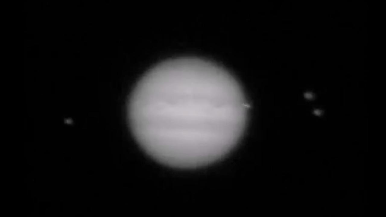 Object slaat in op Jupiter