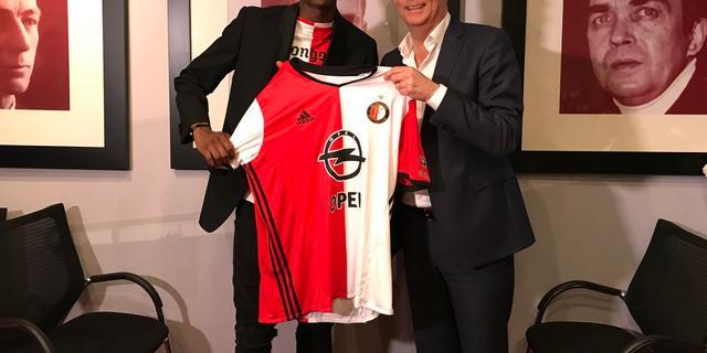 Feyenoord verlengt contract Kongolo tot medio 2019