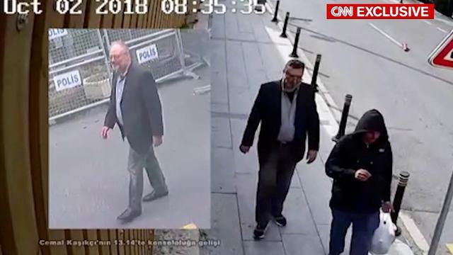 Beelden tonen dubbelganger van omgebrachte Khashoggi