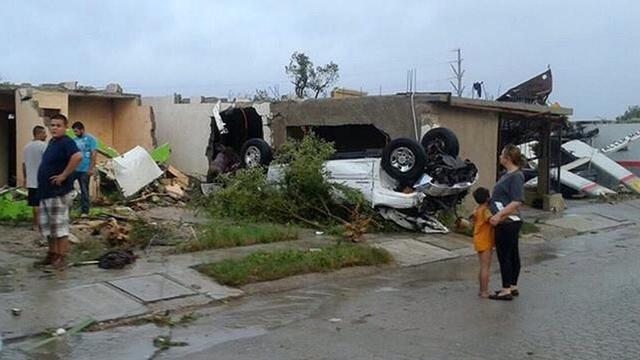 Zeker dertien doden door tornado in Mexico