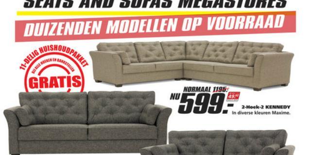 Meubelwinkel Seats and Sofas krijgt boete om nepkortingen