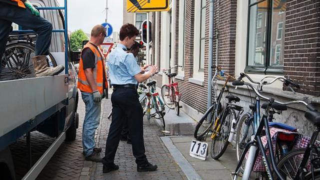 Gemeente knipte in jaren niet zoveel fietsen weg als in 2016