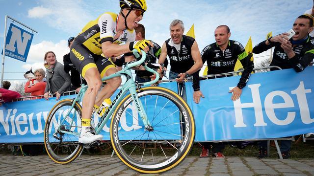 Lotto-Jumbo tevreden met podiumplek Vanmarcke in Vlaanderen