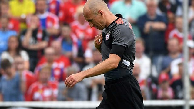 Bayern München gaat geen vervanger halen voor geblesseerde Robben